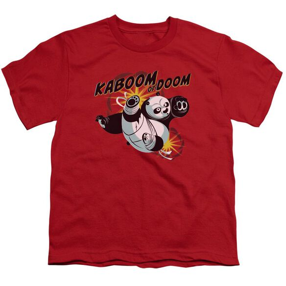 Kung Fu Panda Kaboom Of Doom Short Sleeve Youth T-Shirt