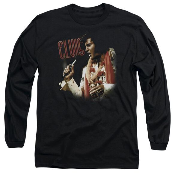 Elvis Presley Soulful Long Sleeve Adult T-Shirt