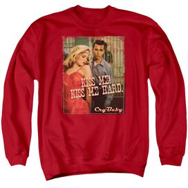 Cry Baby Kiss Me - Adult Crewneck Sweatshirt