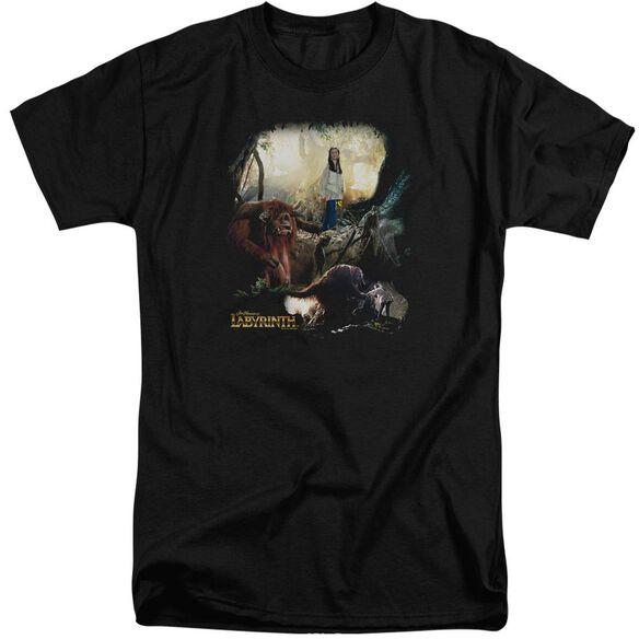 Labyrinth Sarah & Ludo Short Sleeve Adult Tall T-Shirt