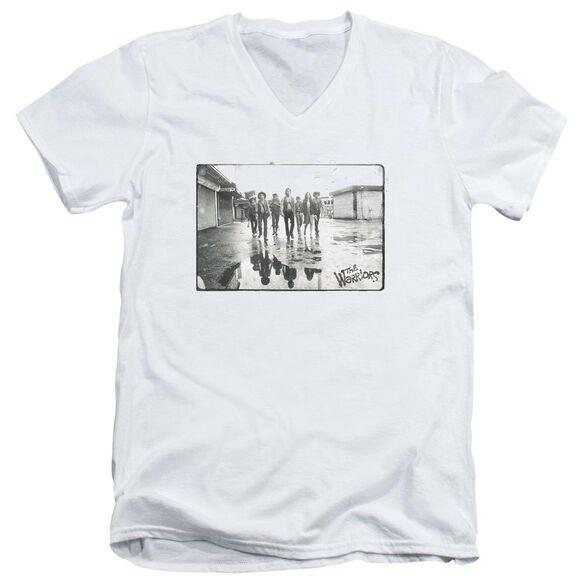 Warriors Rolling Deep Short Sleeve Adult V Neck T-Shirt