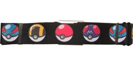 Pokemon Many Big Pokeball Kinds Seatbelt Belt