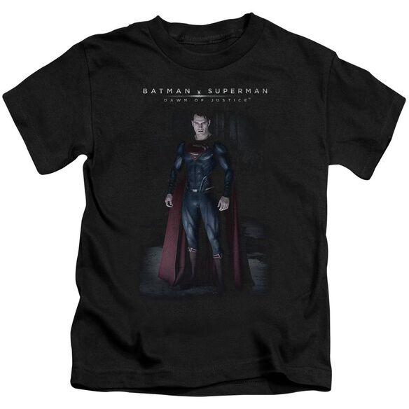 Batman V Superman Stand Tall Short Sleeve Juvenile T-Shirt