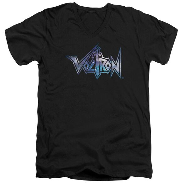 Voltron Space Logo Short Sleeve Adult V Neck T-Shirt
