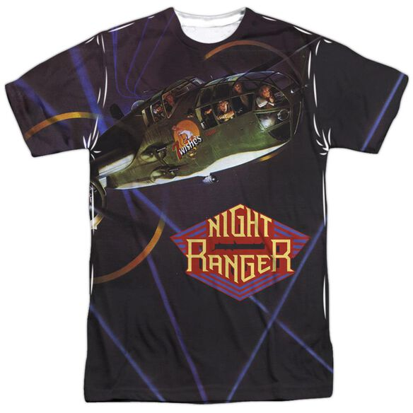 Night Ranger 7 Wishes Short Sleeve Adult Poly Crew T-Shirt