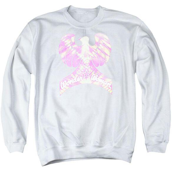 Dc Wonder Bird Adult Crewneck Sweatshirt