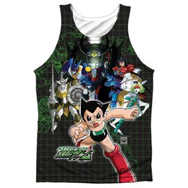Astro Boy Group Adult Poly Tank Top