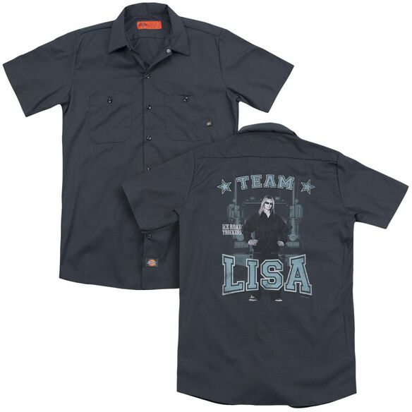 Ice Road Truckers Team Lisa (Back Print) Adult Work Shirt