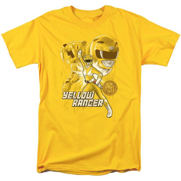 Power Rangers Ranger Short Sleeve Adult T-Shirt