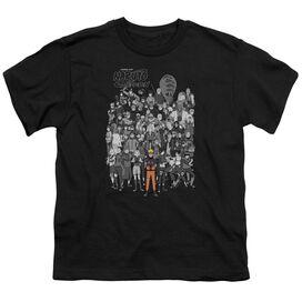 Naruto Characters Short Sleeve Youth T-Shirt