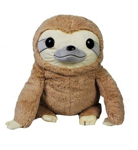 Grey Sloth Plush