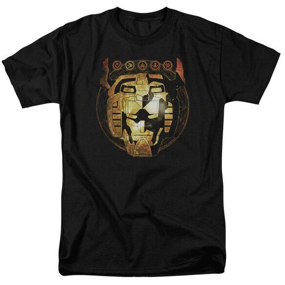 Voltron Head Space Short Sleeve Adult T-Shirt