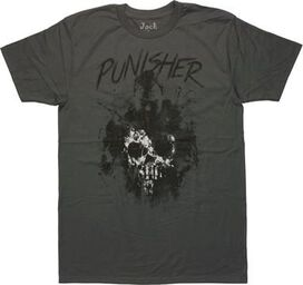 Punisher Castle Sketch T-Shirt