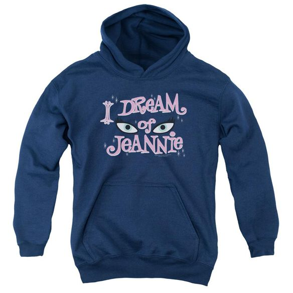 I Dream Of Jeannie Eyes Youth Pull Over Hoodie