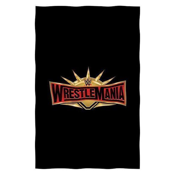 WWE Wrestlemania 19 Sweatshirt Throw