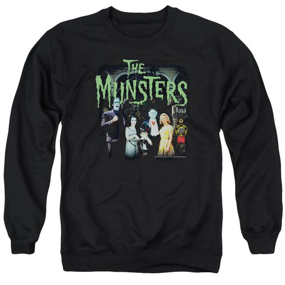 The Munsters 1313 50 Years Adult Crewneck Sweatshirt