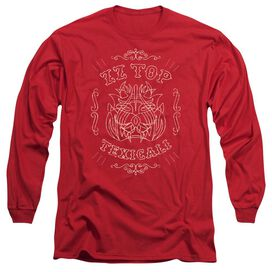 Zz Top Texicali Demon Long Sleeve Adult T-Shirt