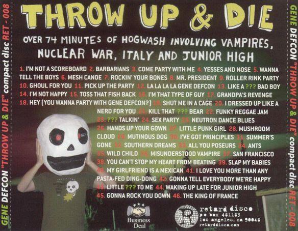 Throw Up & Die