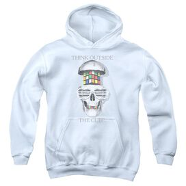 Rubik's Cube Outside The Cube Youth Pull Over Hoodie