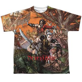 Zenoscope Neverland Short Sleeve Youth Poly Crew T-Shirt