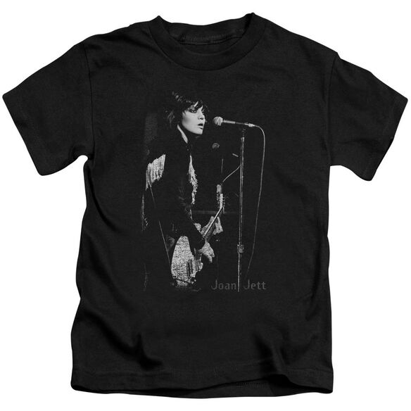 Joan Jett On The Mic Short Sleeve Juvenile T-Shirt