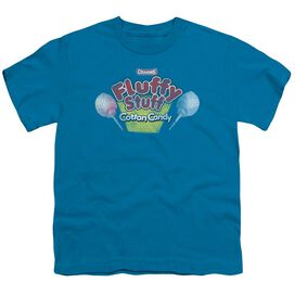 Tootsie Roll Fluffy Stuff Logo Short Sleeve Youth T-Shirt