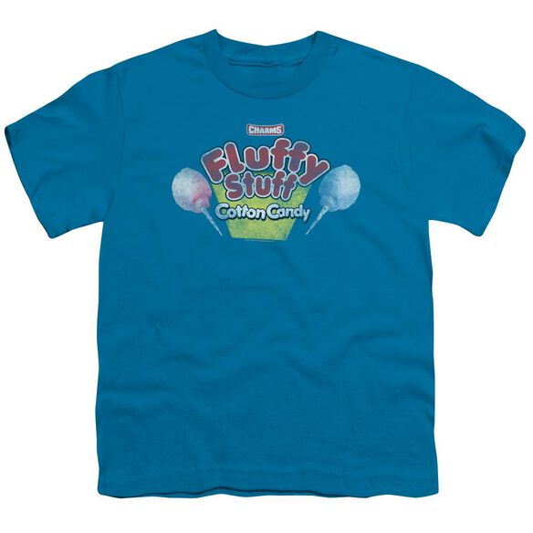Tootsie Roll Fluffy Stuff Logo Short Sleeve Youth T-Shirt