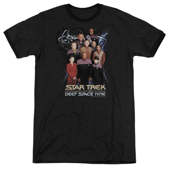 Star Trek Ds9 Crew Adult Heather Ringer