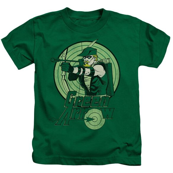 Dc Green Arrow Short Sleeve Juvenile Kelly Green Md T-Shirt