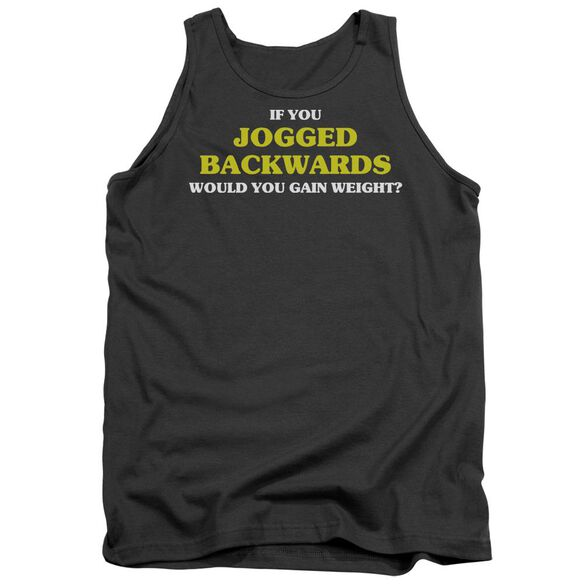 Jogged Backwards Adult Tank