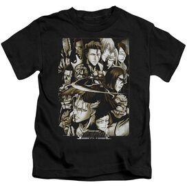Bleach Slice Short Sleeve Juvenile Black T-Shirt