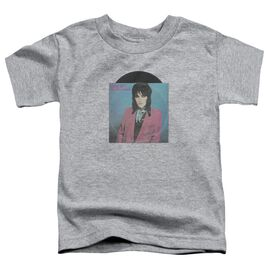 Joan Jett Rock N Roll 45 Short Sleeve Toddler Tee Athletic Heather T-Shirt