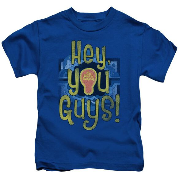 Electric Company Hey You Guys Short Sleeve Juvenile Royal T-Shirt