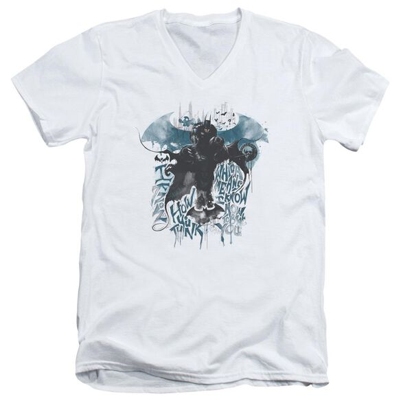 Batman Arkham Knight I Know Short Sleeve Adult V Neck T-Shirt