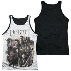 Hobbit Hhollen Amarth Adult Poly Tank Top Black Back