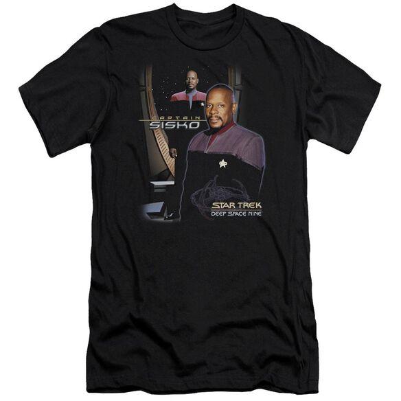 Star Trek Captain Sisko-premuim Canvas Adult Slim