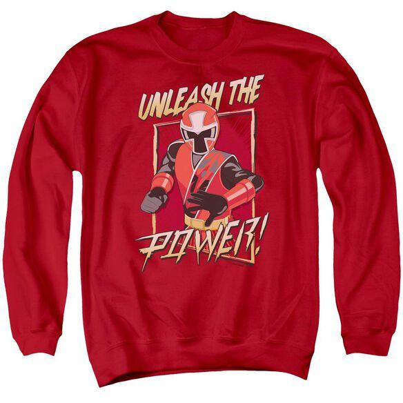 Power Rangers Unleash Adult Crewneck Sweatshirt