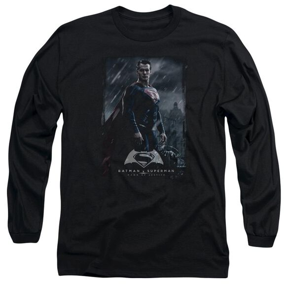 Batman V Superman Supe Poster Long Sleeve Adult T-Shirt