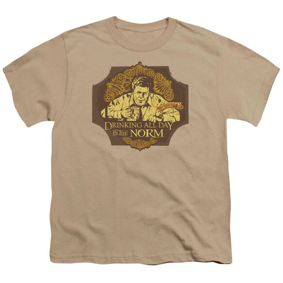 Cheers The Norm Short Sleeve Youth T-Shirt