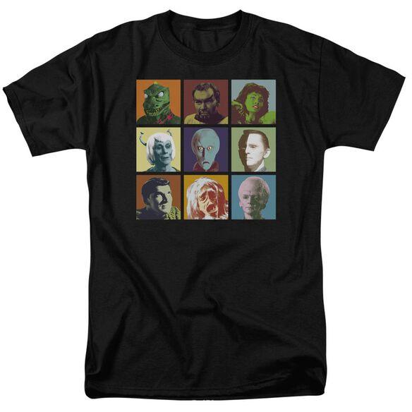 Star Trek Alien Squares Short Sleeve Adult T-Shirt