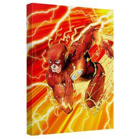Jla Lightning Dash Quickpro Artwrap Back Board