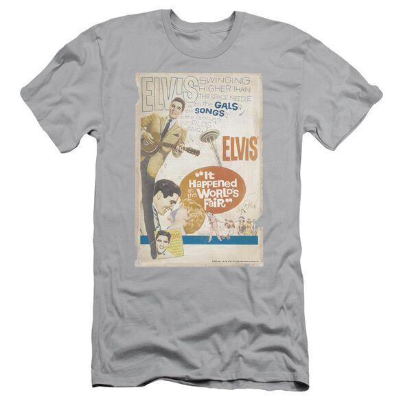 Elvis World Fair Poster Short Sleeve Adult T-Shirt