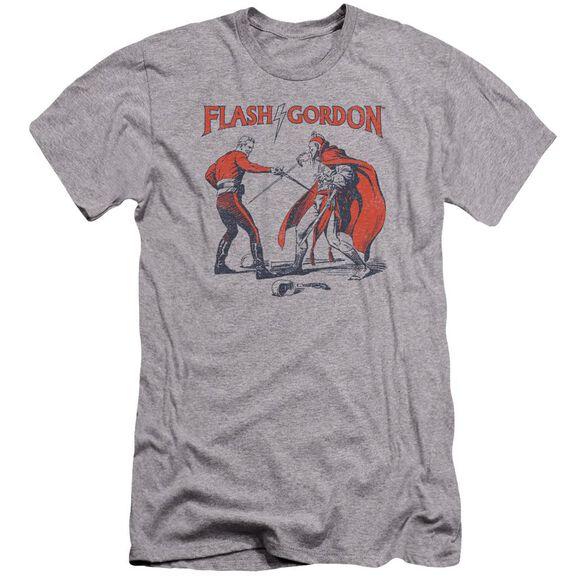 Flash Gordon Duel Premuim Canvas Adult Slim Fit Athletic