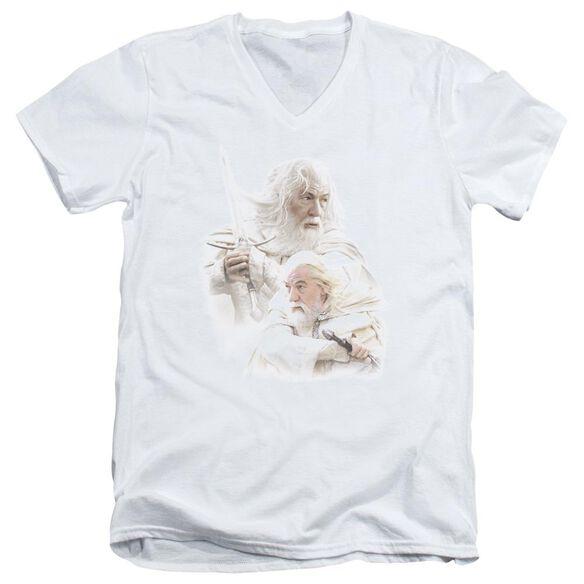 Lor Gandalf The Short Sleeve Adult V Neck T-Shirt
