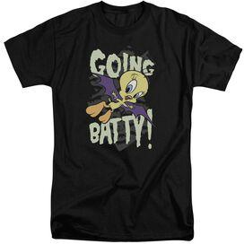 Looney Tunes Going Batty Short Sleeve Adult Tall T-Shirt