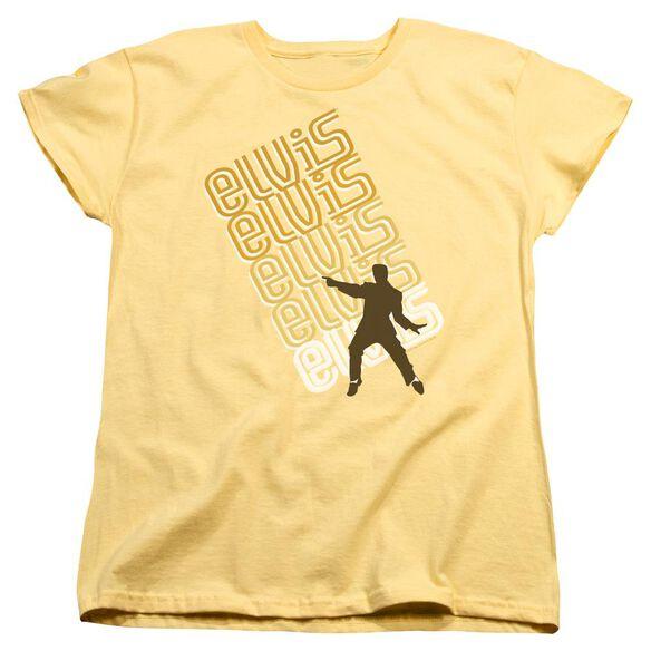 Elvis Presley Pointing Short Sleeve Womens Tee T-Shirt