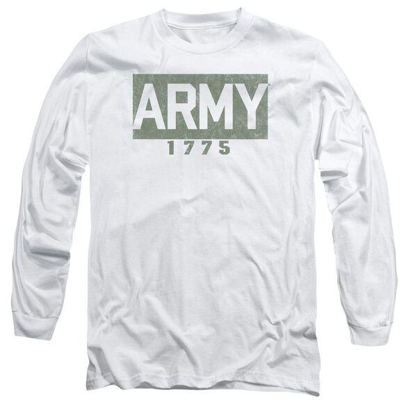 Army Block Long Sleeve Adult T-Shirt