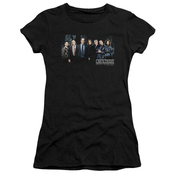 Law And Order Svu Cast Short Sleeve Junior Sheer T-Shirt