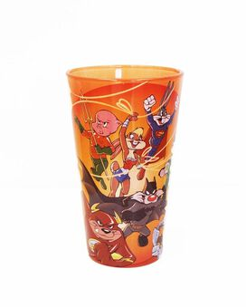 Looney Tunes & DC 16 oz Drinking Glass