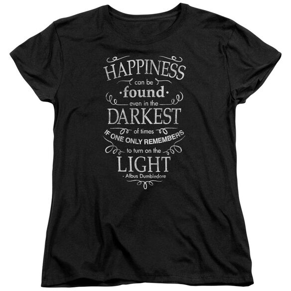 Harry Potter Happiness Short Sleeve Womens Tee T-Shirt